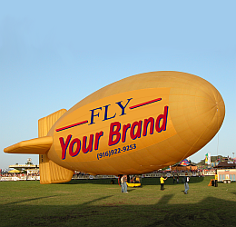 GEFA-FLUG Yellow Thermal Airship