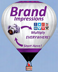 Corporate Branded Hot Air Balloon