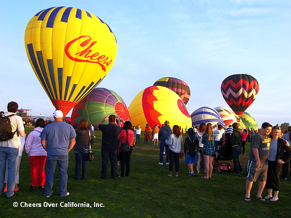 Cheers Aerial Media at Color the Skies - © Cheers Over California, Inc.