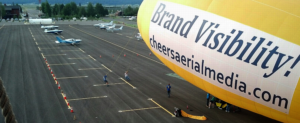 Cheers Aerial Media GEFA-FLUG Thermal Airship